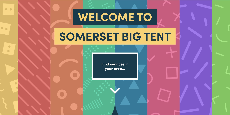 Somerset Big Tent Website Launch!