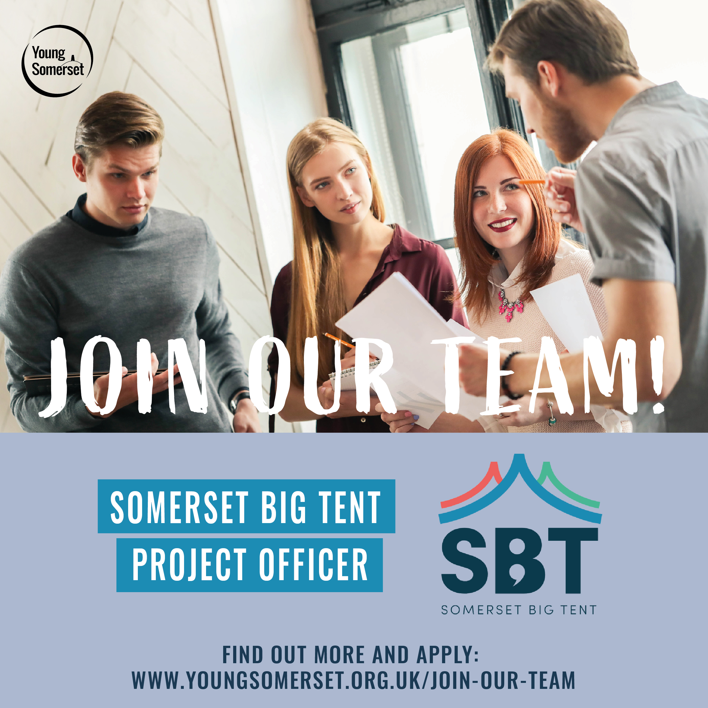 We're Recruiting a SBT Project Officer!